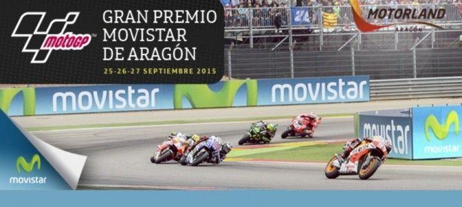 Gran premio de Moto Gp de Aragón en Alcañiz.